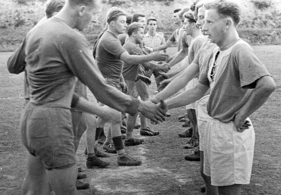 Einheit 1958 gegen Tiefenort