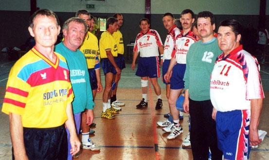 Alte-Herren Spiel gegen den HV Merkers zum 50. Jubiläum