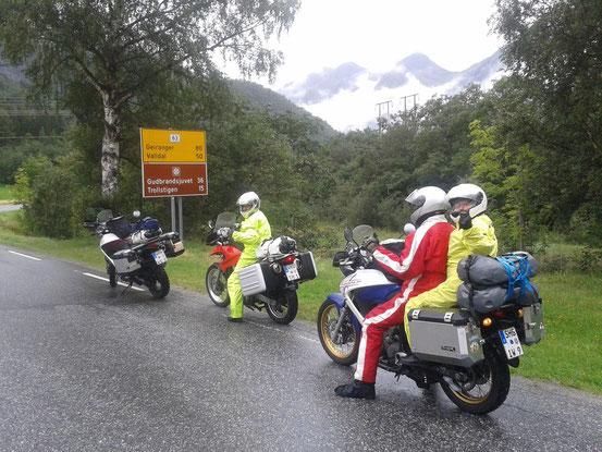 Enduro Reise Trollstigen 2013