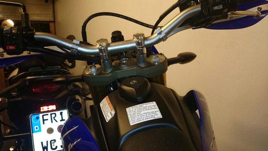WR250R Magura SX Lenker