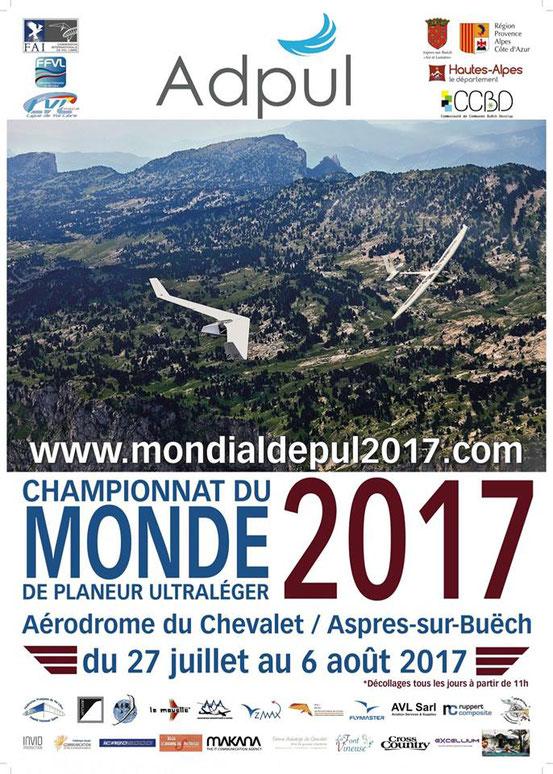 Championnat monde planeur le chevalet Aspres sur Buëch