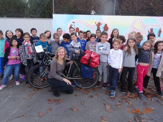 CE2 et CM1 de l'Ecole primaire de Bessoncourt - Vendredi 16 octobre 2015