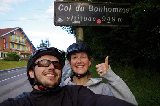 Col du Bonhomme (Vosges) 14 juillet 2014