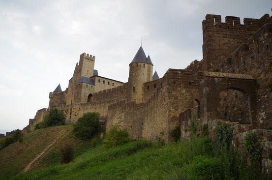 Carcassonne et la rencontre de Louis Campana, Président de l'Association Gandhi International  - 24 septembre 2014
