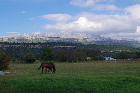 La Montagne Sainte Victoire (Provence) 18 septembre 2014