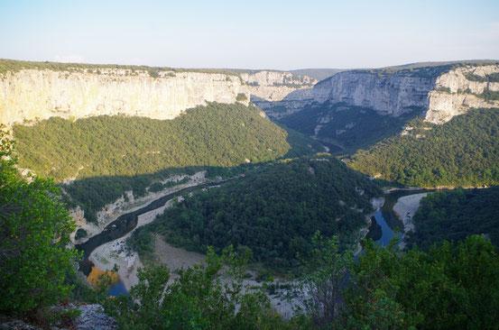 Gorges de l'Ardèche 10 septembre 2014