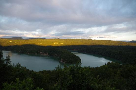 Lac de Vouglans (Jura) 13 août 2014
