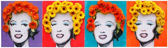 Neue Haare für Andy Warhol Marilyn