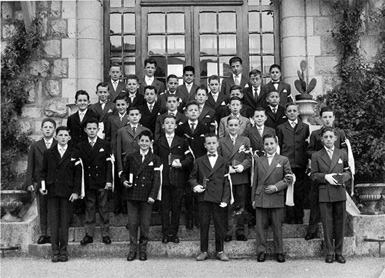 Communion en 1960