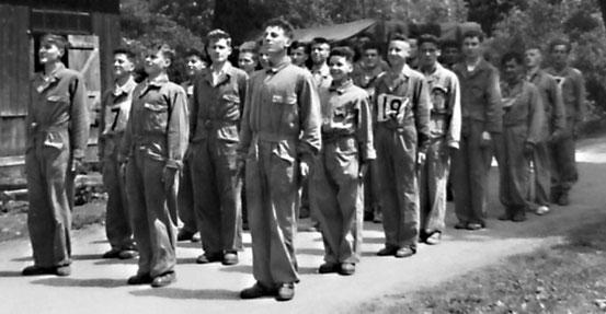Préparation militaire 1954