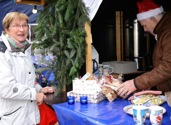Bützflether Weihnachtsmarkt 1.Tag
