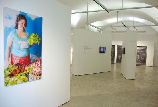 Ausstellungsansicht EIGHT, Atelierhaus Salzamt, Linz (AT), 2014, Foto: Veronika Merklein