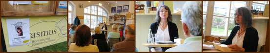 Lesung im Büchercafe Erasmus in Sibiu/Hermannstadt - RO am 17. Juni 2014