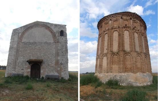 Resultado de imagen de Campo de Cuellar. Ermita del Santo Cristo de San Mamés.