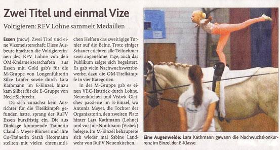 Kreismeisterschaften Essen i.O. 2013- OV 06.09.13