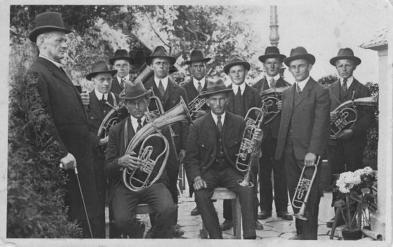 Musikgesellschaft Brülisau, Gründung, 1921, Blasmusik, Appenzell