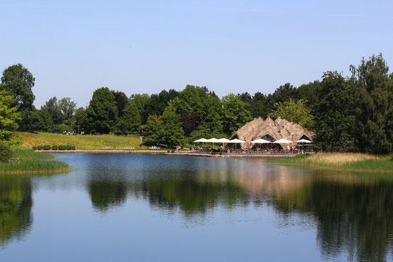 Großer See im Britzer Garten