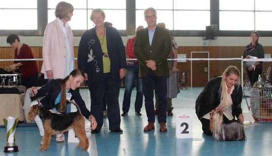 Richter L.Tsistjakova Russland + P.Lauber Schweiz