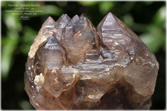 エレスチャル 原石 アメリカ ネバダ州 ハレルヤジャンクション産 写真