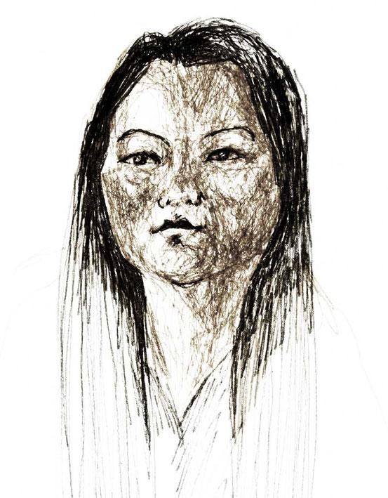 jung Tibetan girl