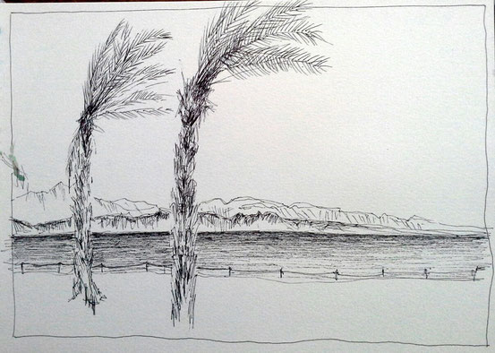 Dead Sea 10. April 2013