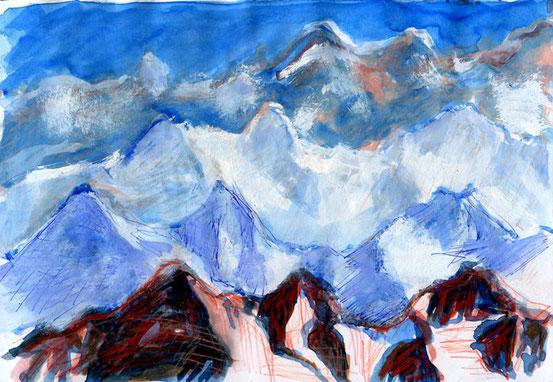 … Mountain high ...