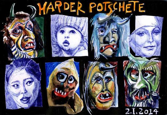 Harder Potschete 2. I. 2014