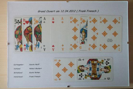 Grand Ouvert am 12.04.2012 Frank Frensch