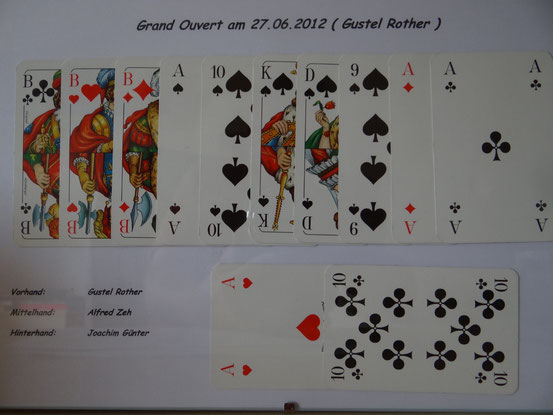 Grand Ouvert am 27.06.2012 Gustel Rother