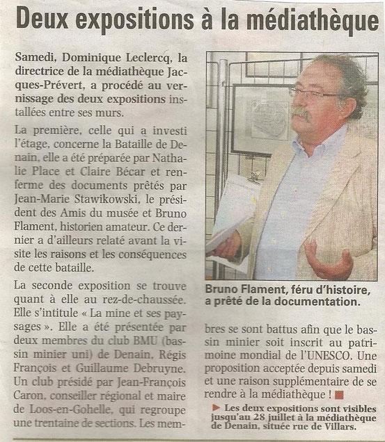 LA VOIX DU NORD JUILLET 2012