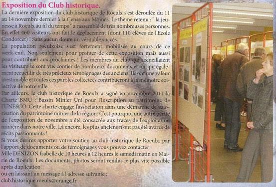 Bulletin municipal de janvier 2012.