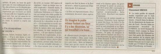 LA VOIX DU NORD DU 25 AVRIL 2012