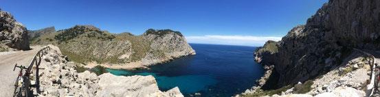 Auf dem Weg zum Cap Formentor