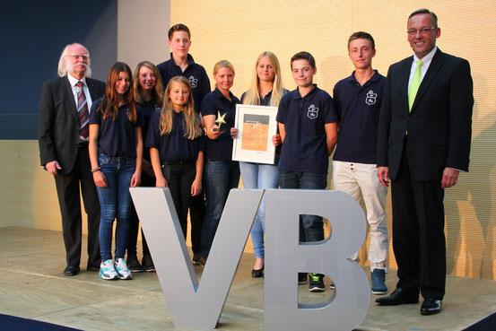 Der RSV Sterzhausen erhält den 1.Preis bei Sterne des Sports