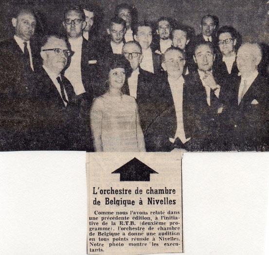 """Article paru dans """"Le Peuple"""" du 1/06/1967"""