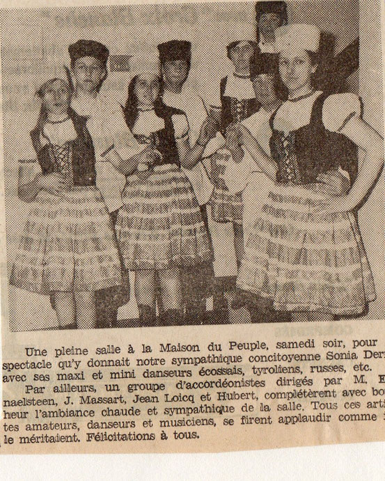 """Article paru dans le journal """"Le Peuple"""" du 20/11/1968"""