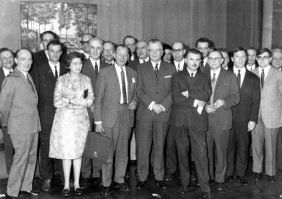 Réunion Syndicat d'Initiative Régional en mai 1970