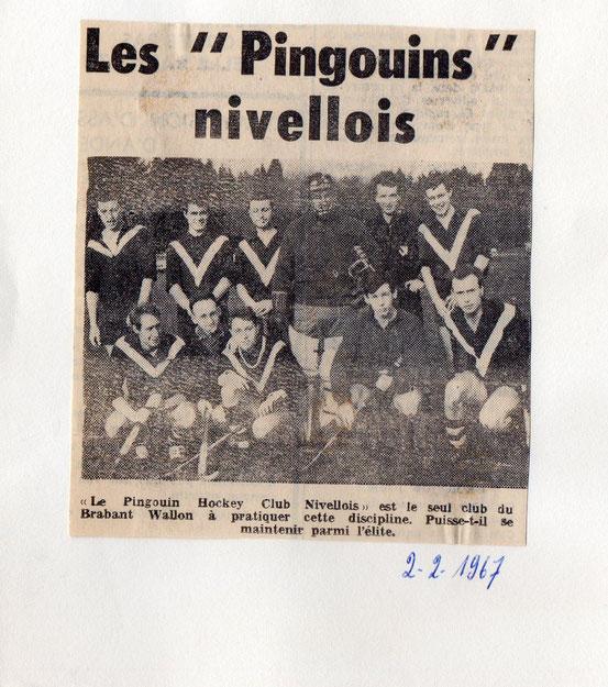 """Article paru le 2/2/1967 dans le journal """"Le Peuple"""""""