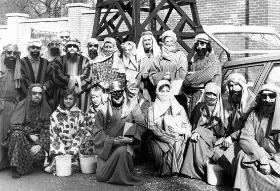 Les Rois d'Arabie en 1974