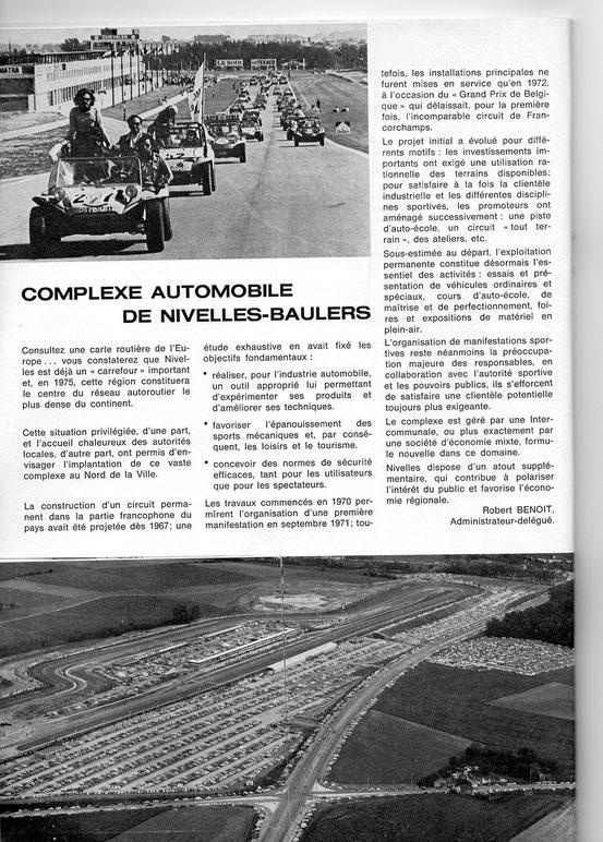"""Article paru dans les cahiers de la """"Toison d'Or"""" de février 1974"""