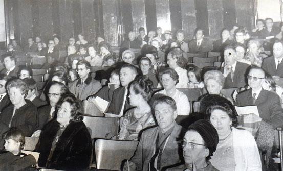 Concert de l'académie...vue du public