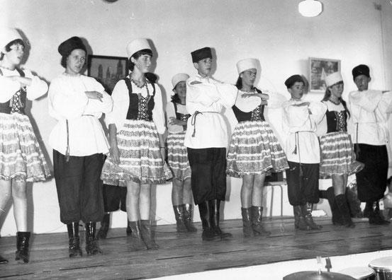 Goûter des pensionnés socialistes nivellois en 1967