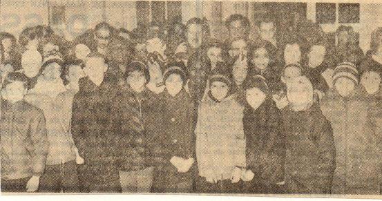 """Article paru dans """"Le Peuple"""" du 24/12/1968"""