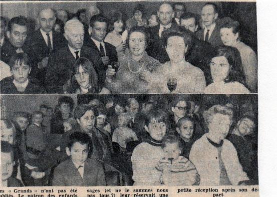 """Article du journal """"Le Peuple"""" du 8/12/1967"""