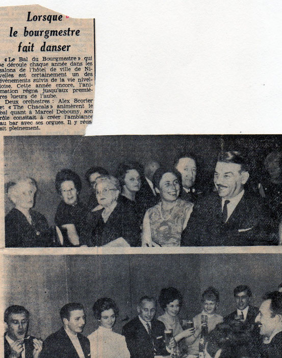 """Article paru dans le journal """"Le Peuple"""" du 5/12/1967"""