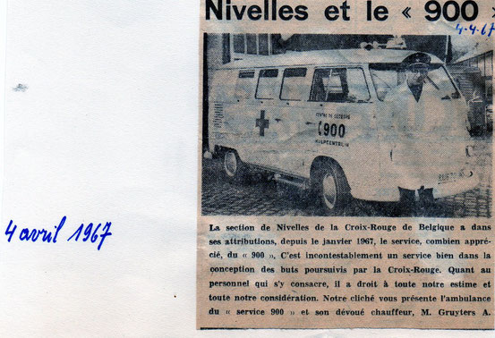 "Article paru dans le journal ""Le Peuple"" du 4 avril 1967"