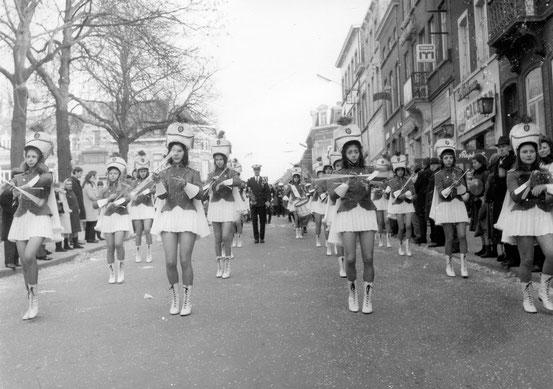 Les Majorettes de Compiègne (Rue de Namur)