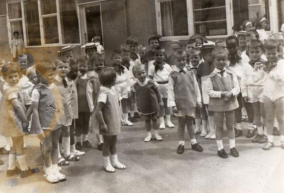 Fête d'école à la rue de Soignies