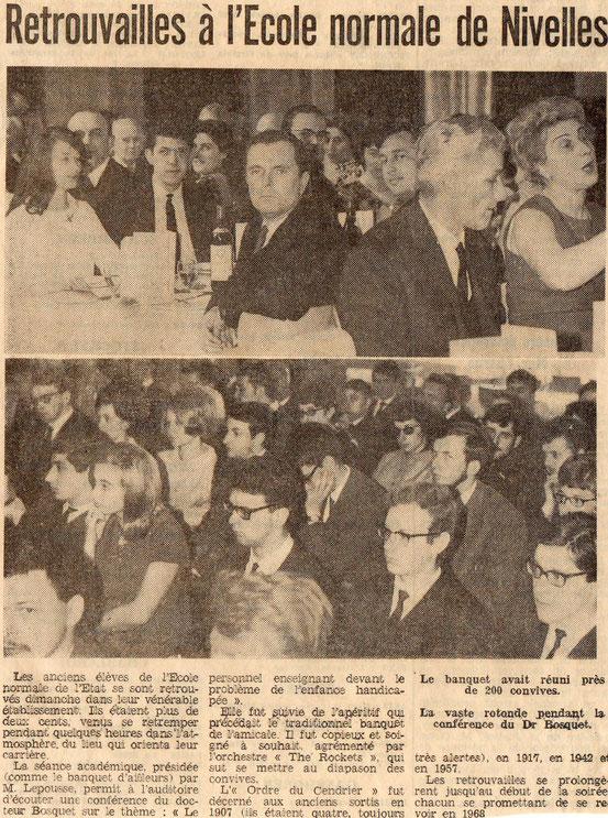 """Article paru dans le journal """"Le Peuple"""" du 24/4/1967"""