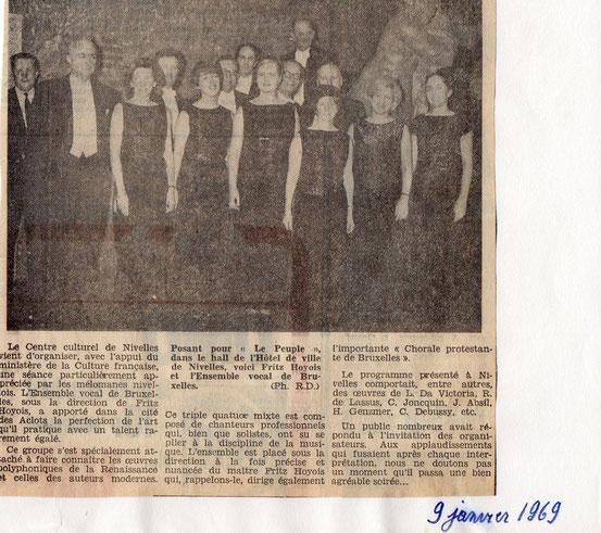 Article paru le 9/01/1969